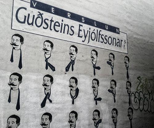 Reykjavik Necktie Graffiti