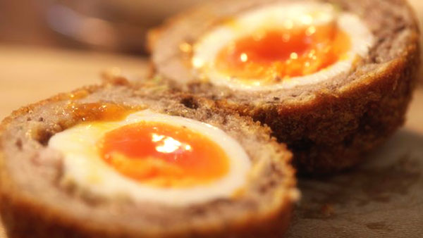 Scotch Eggs Yolk